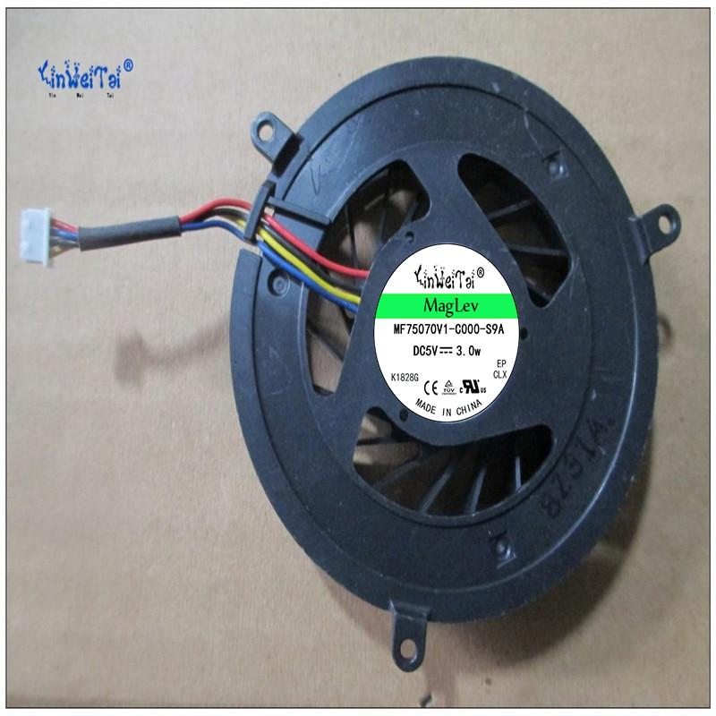 Envío Gratis DC 5V 0.35A ventilador de refrigeración para DELL 1735, 1536, 1737, 1435 0R512D DQ5D566F500 ventilador de refrigeración 3A CPU MCF-C22CM05