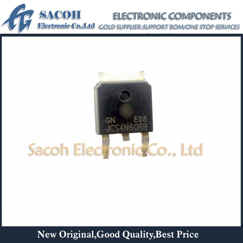 Envío gratis 10 Uds JCS4N60RB o JCS4N60VB JCS4N60 o JCS4N65RB o JCS4N65VB JCS4N65-252 4A 600V MOSFET de potencia