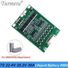Turmera 1s 2s 4s 3.2v 6.4v 12.8v 32650 LiFePO4 BMS lithium fer batterie protection conseil pour 32650 32700 lifepo4 batterie Balance