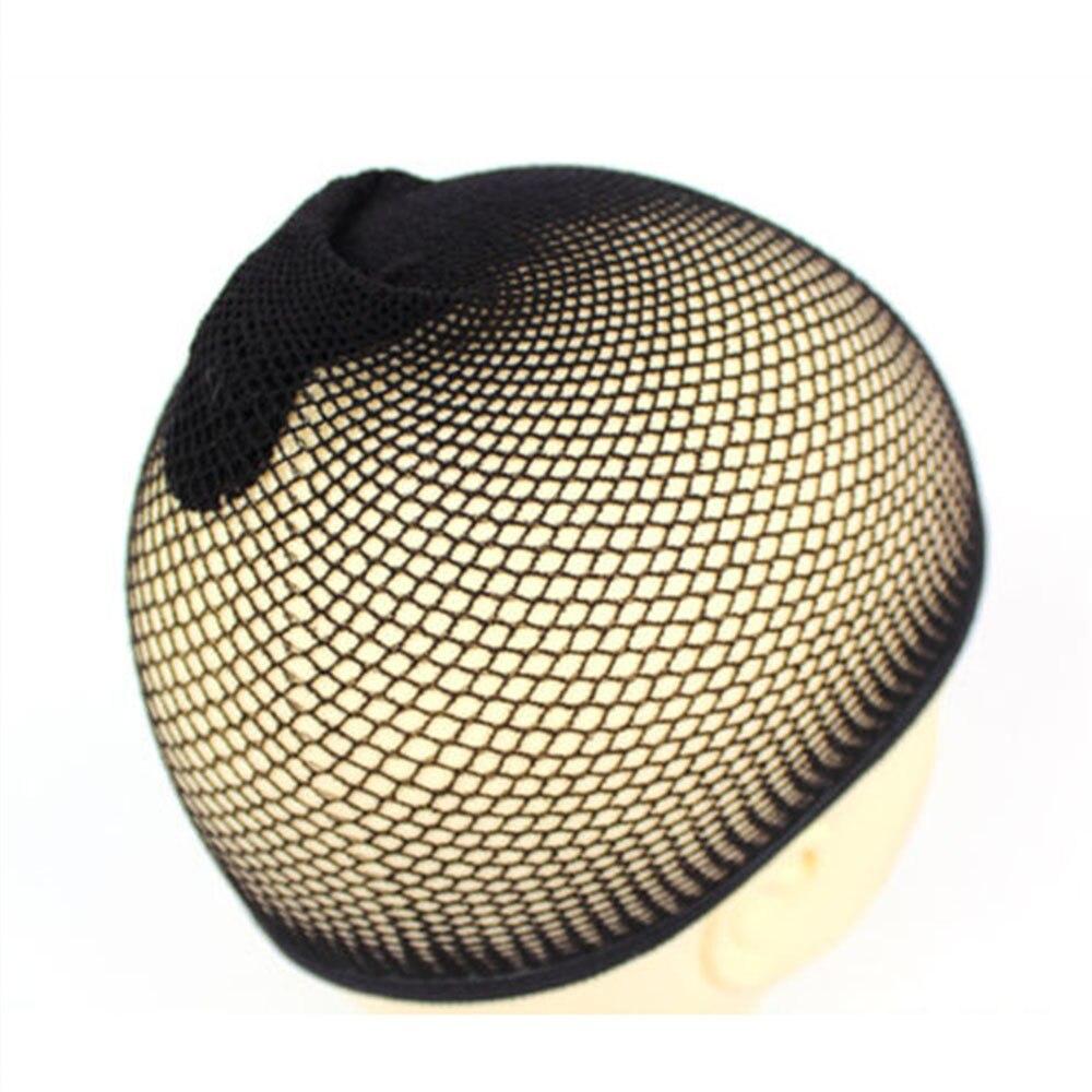 1PC de moda pelucas de cabello para mujeres casquillo de media tejido de red de malla de red elástica damas peluca tapas transpirable