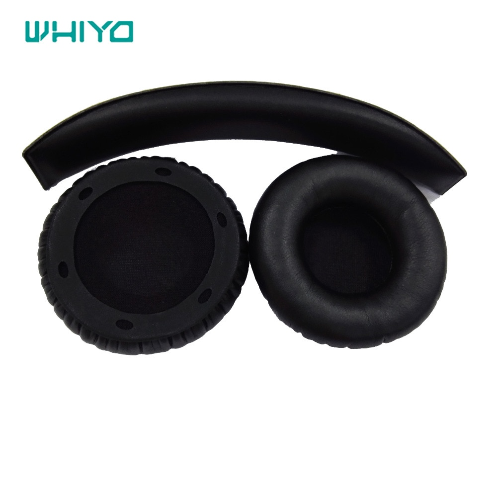 Whiyo 1 set of Replacement Ear Pads Cushion Cover Earpads Pillow for Sol Republic Tracks Ultra V12 Headphones