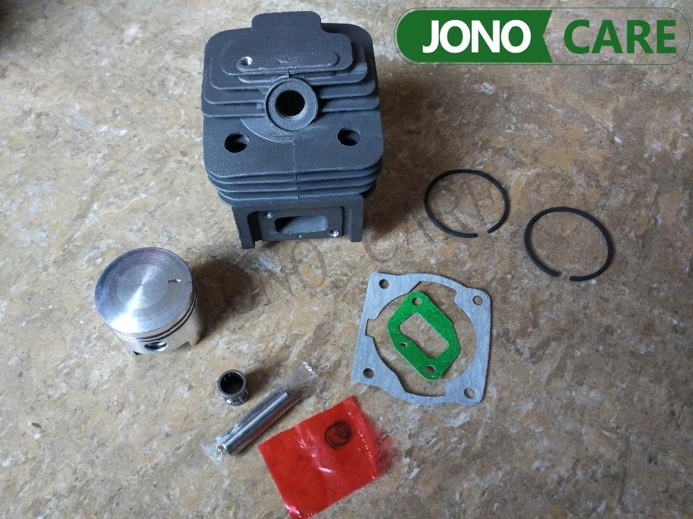 Alésage de cylindre 44 MM 52CC BC520 CG520 Kit de Piston de cylindre de coupe de brosse avec joint de cylindre de joint de collecteur et roulement à aiguilles