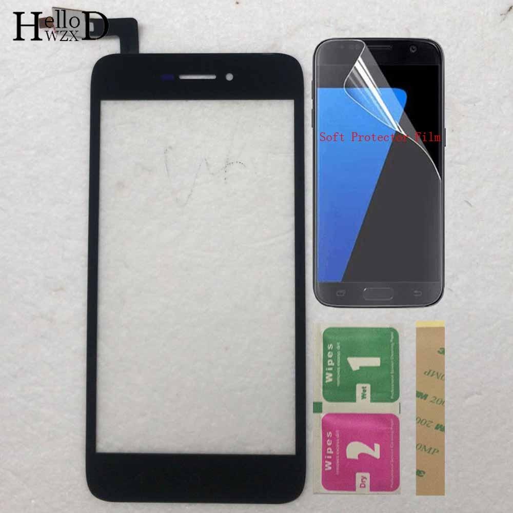 Cristal de pantalla táctil para tp-link Neffos Y5 MONTAJE DE digitalizador con pantalla táctil reemplazo para Neffos Y5 TP802A Touch Glass