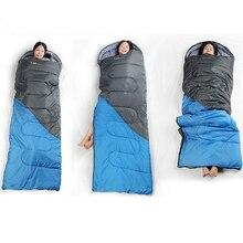 Sleeping Bag Outdoor Camping Adult Travel Ultralight Foldable Waterproof Envelope Hiking Mat Spring Autumn 5 - 15 Deg
