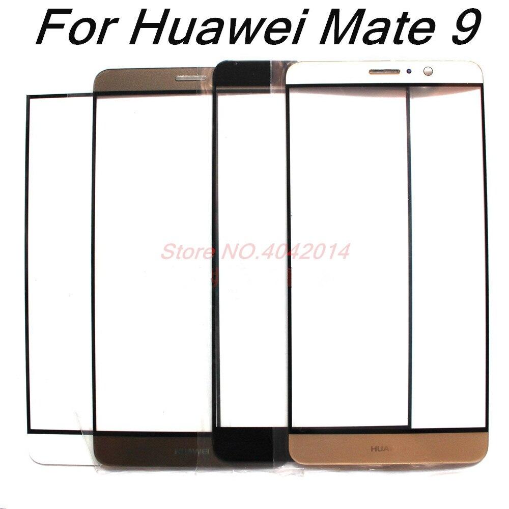 Cubierta de cristal frontal de pantalla exterior Original para Huawei Mate 9/MT9 MHA-AL00 piezas de repuesto de lente de pantalla táctil LCD