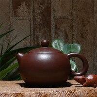 190ml Wholsale Yixing Genuine Handmade Purple Clay teapot Chinese Kung Fu Zisha Tea Pot Gift Box Package Free Shipping
