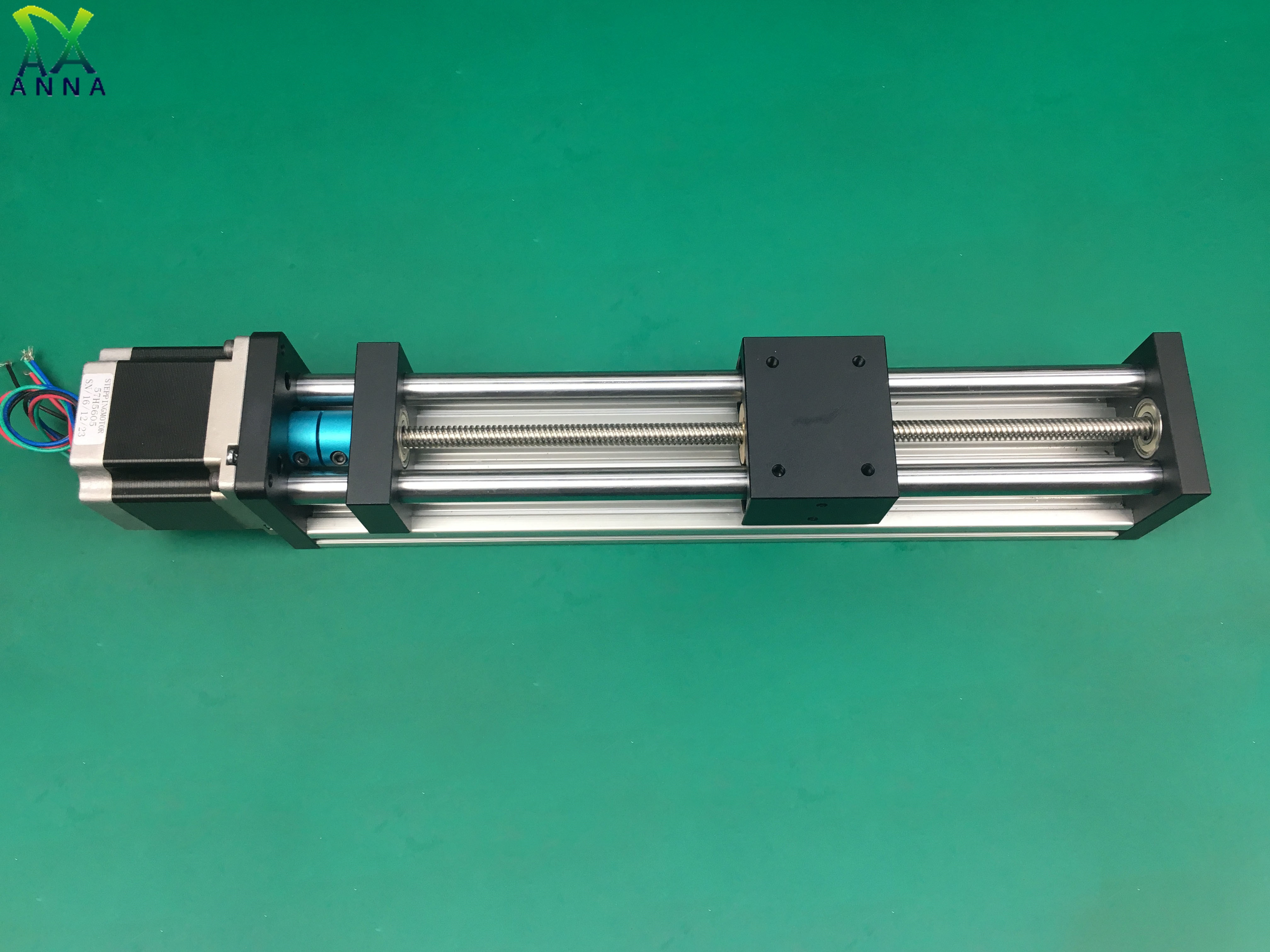 ذراع آلي قضيب الكرة اللولبية خطي السكك الحديدية دليل الشريحة الجدول المحرك ل نك XYZ وحدة الحركة أجزاء بمحركات راوتر أطقم 300 مللي متر