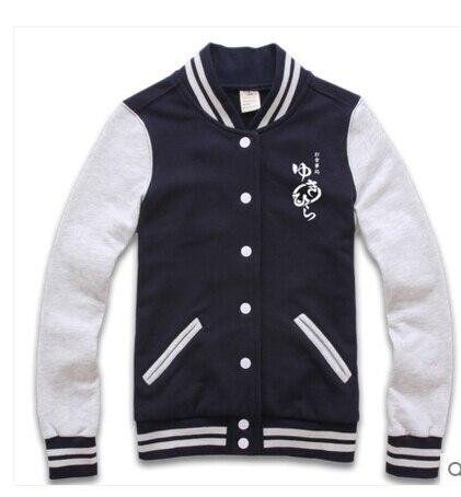 Shokugeki no Soma Yukihira Souma Cosplay de la camiseta de béisbol chaqueta con capucha abrigo