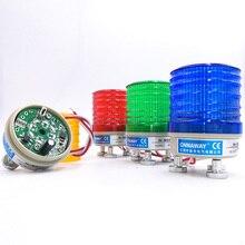 Signal stroboscopique magnétique voyant davertissement N-5041T 12V 24V 220V indicateur lumineux lampe LED petite lumière clignotante alarme de sécurité