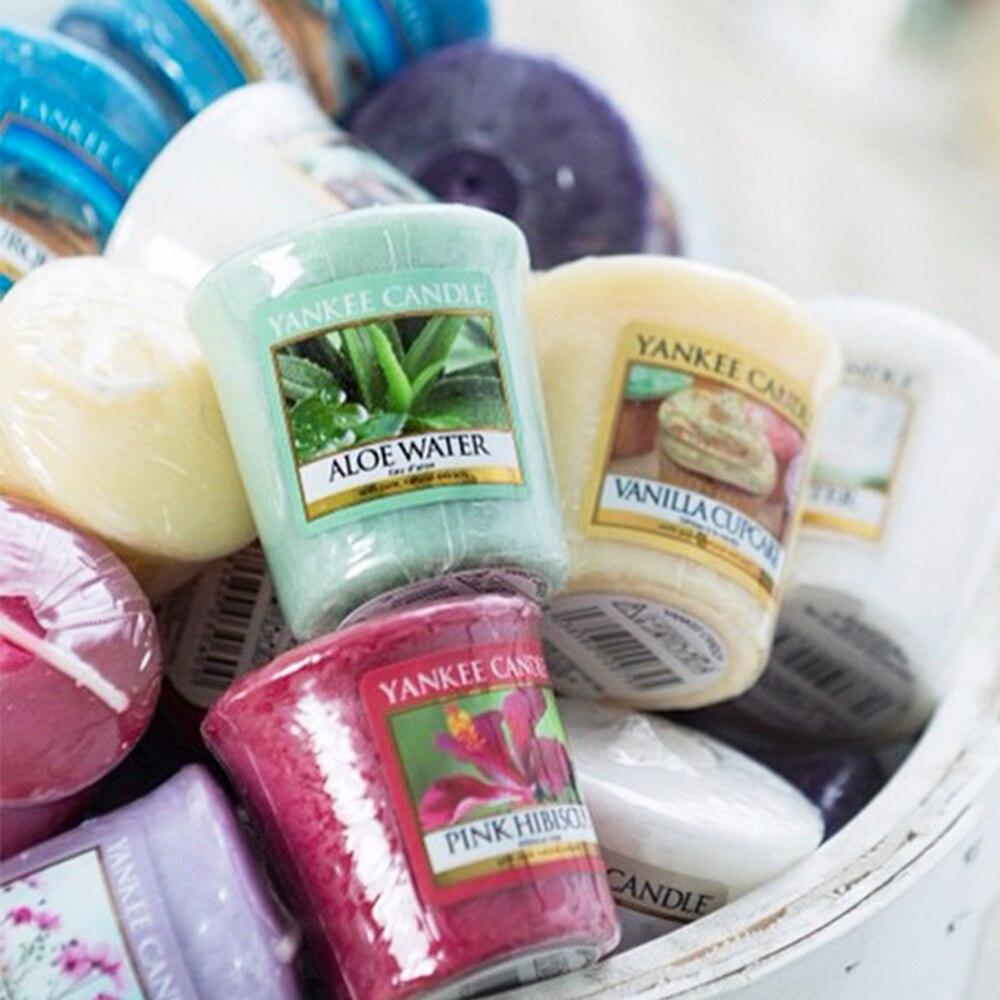 Aceite Esencial de aromaterapia velas de boda + vela estrella taza velas sin humo para aromaterapia Yankee candles 81 sabores