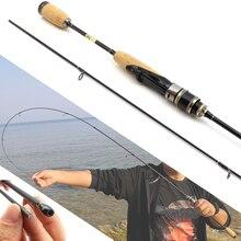 Promotion! 1.68M manche en bois leurre tige Ultra léger filature canne à pêche 2-6g leurre poids 3-7lb ligne peser carbone tige ul puissance