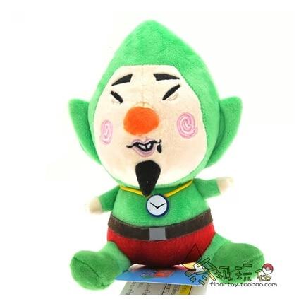 Little Buddy Legend of Zelda Wind Waker Tingle 17cm Plush Toys
