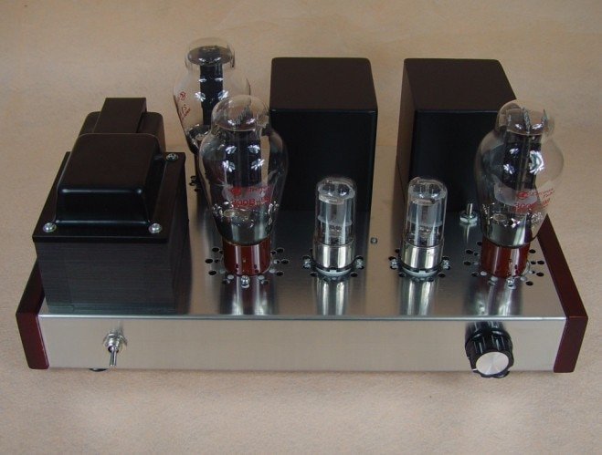 Kit DIY 300B Kit amplificador de tubo 6N8P + 300B kit amplificador de tubo de vacío