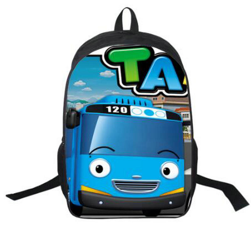 2018 bolsas para mujer moive Tayo, mochilas estampadas para coche, mochila escolar para estudiantes, mochilas para niñas y niños, mochilas personalizadas privadas