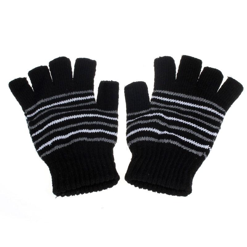 High Quality Warm Fingerless Stylish Hand Warmer Winter5V USB Powered Heating Heated Winter Hand Warmer Gloves Washable BKY418