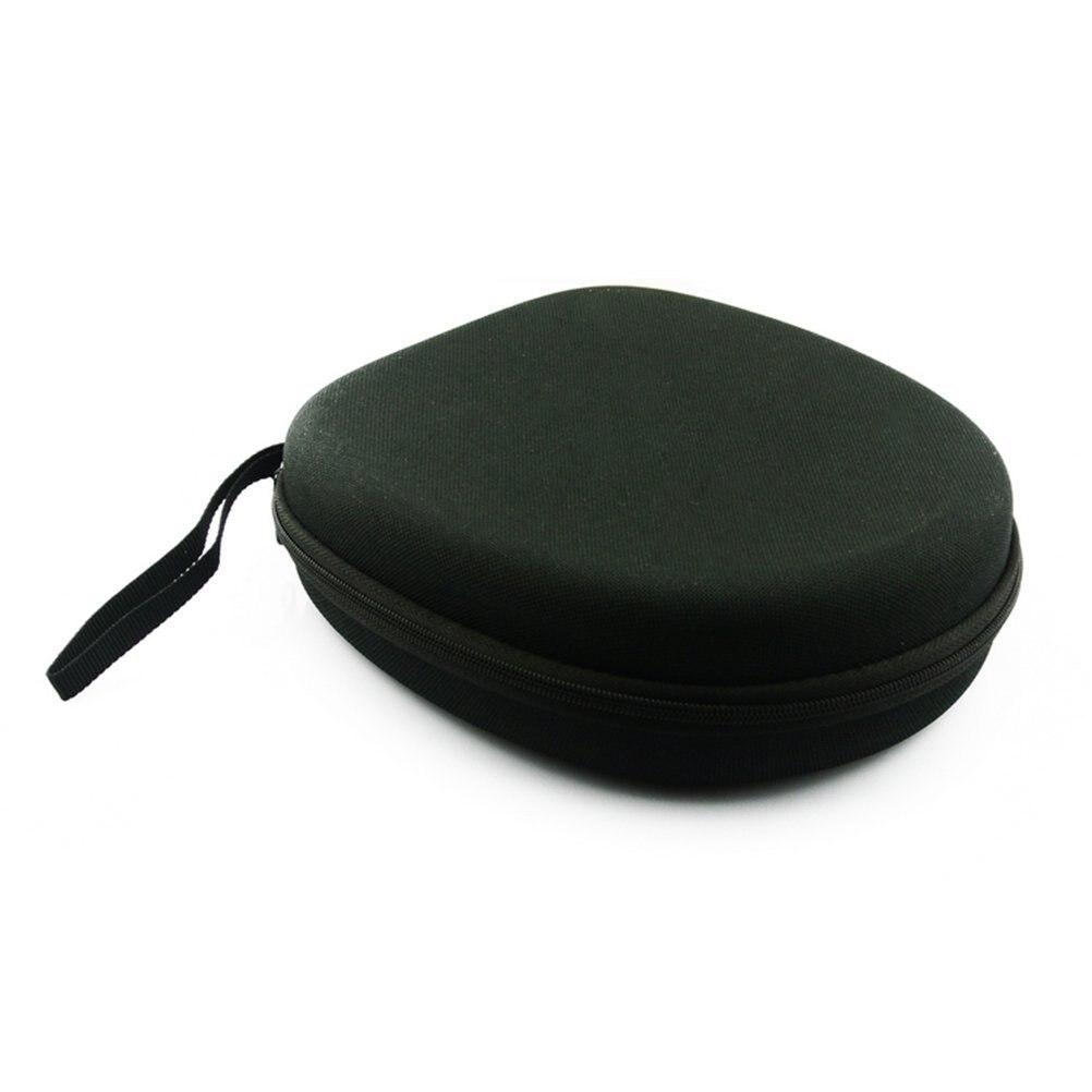 Bolsa para auriculares portátil hjes, funda para Sony MDR-ZX100 ZX110 ZX300 ZX310 ZX600, auriculares (negro)