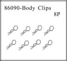HSP part 86090 Body clips 8P For 1/16th EC Car Parts 94182 /94183 /94185 /94186 /94187