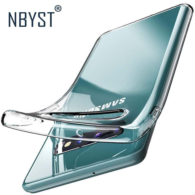 Claro cubierta suave para Samsung Galaxy S8 S9 J8 S10 e A6 A8 J4 J6 más A9 A7 2018 A10 A30 A40 A50 A70 M10 M20 gran Core Primer Caso