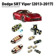 Led مصابيح داخلية ل دودج srt فايبر 2013-2017 9 قطعة Led أضواء للسيارات طقم الإضاءة لمبات السيارات Canbus