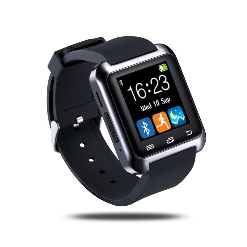 Intelligente Orologio Bluetooth U8 Smartwatch U80 per iPhone 6/5 S Samsung S6/Nota 4 HTC Android Phone Smartphone Android Usura
