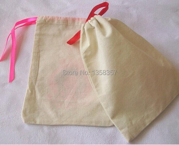 100 шт./лот CBRL маленькие хлопковые ювелирные сумки оптом 7*9 см подарочные мешочки дешевая сумка на шнурке для браслетов упаковочные сумки для ...