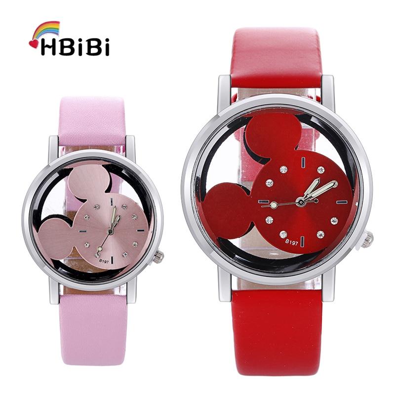 Новый продукт launch креативные детские часы прозрачные полые милые детские часы с циферблатом для девочек и мальчиков кварцевые детские часы