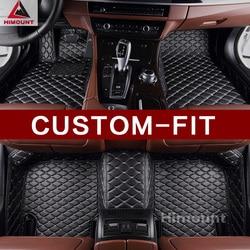 Personalizado tapetes do assoalho do carro para VW Sharan Volkswagen Phaeton Touareg Passat CC all weather 3D tapetes de carro styling perfect fit forros
