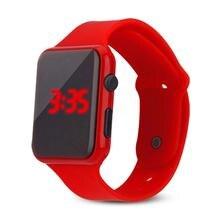 Skmei nueva moda hombres mujeres relojes electrónicos LED pantalla táctil relojes digitales al aire libre Unisex estudiantes deporte reloj de pulsera Digital