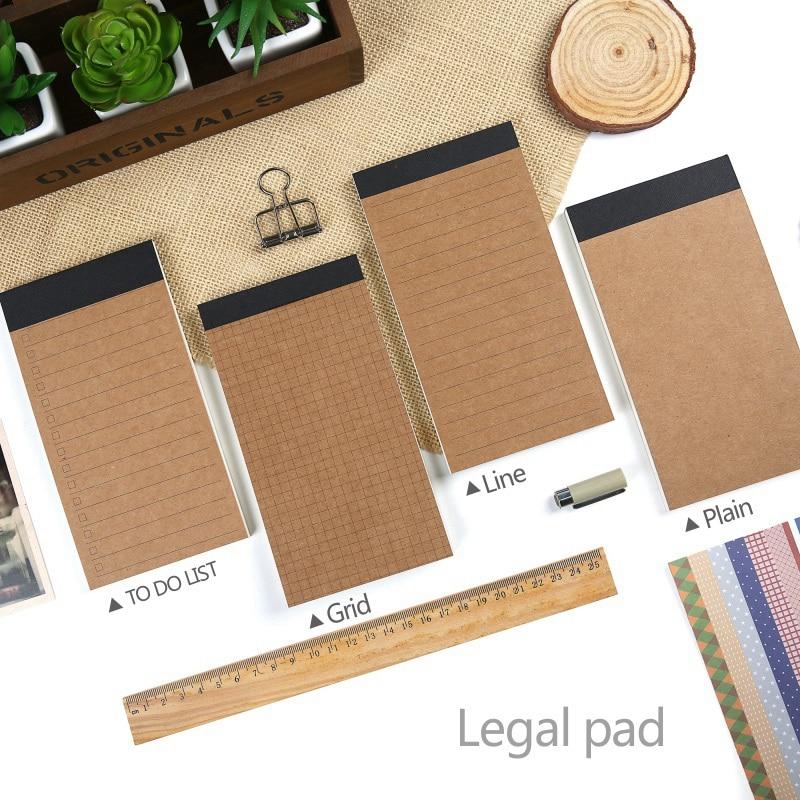 Карманные Блокноты с легальным покрытием, планировщикам, Блокноты с простой бумажной леской, дневники, канцелярские принадлежности для офи...