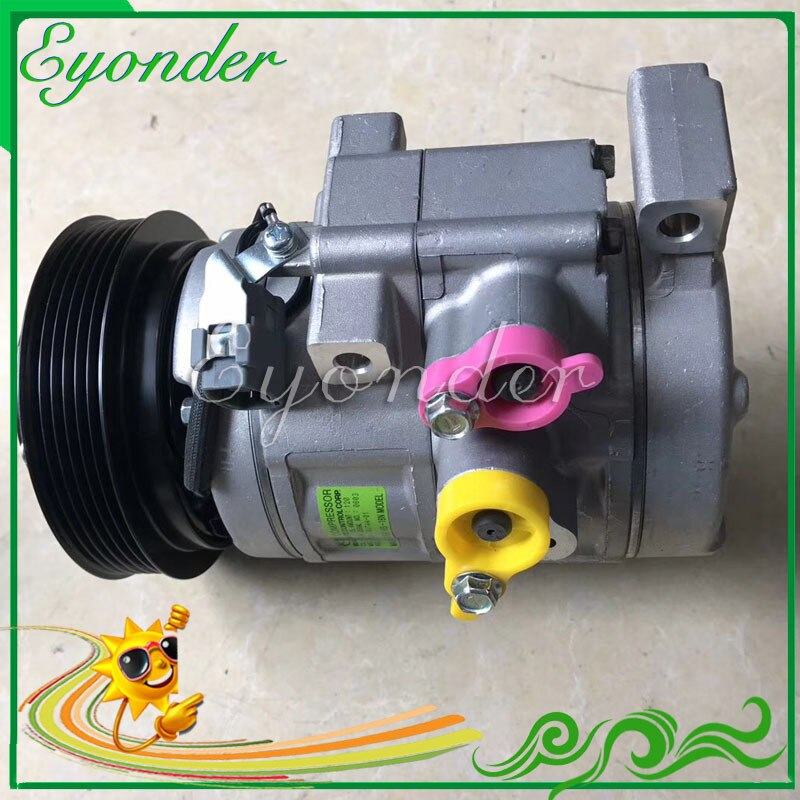 AC compresor de refrigeración de aire acondicionado de la bomba para Mazda CX-7 CX7 2.3L 2.5L 2009-2012 CF500-RW7AA-01 F500-RW7AA-03 EG21-61-450G