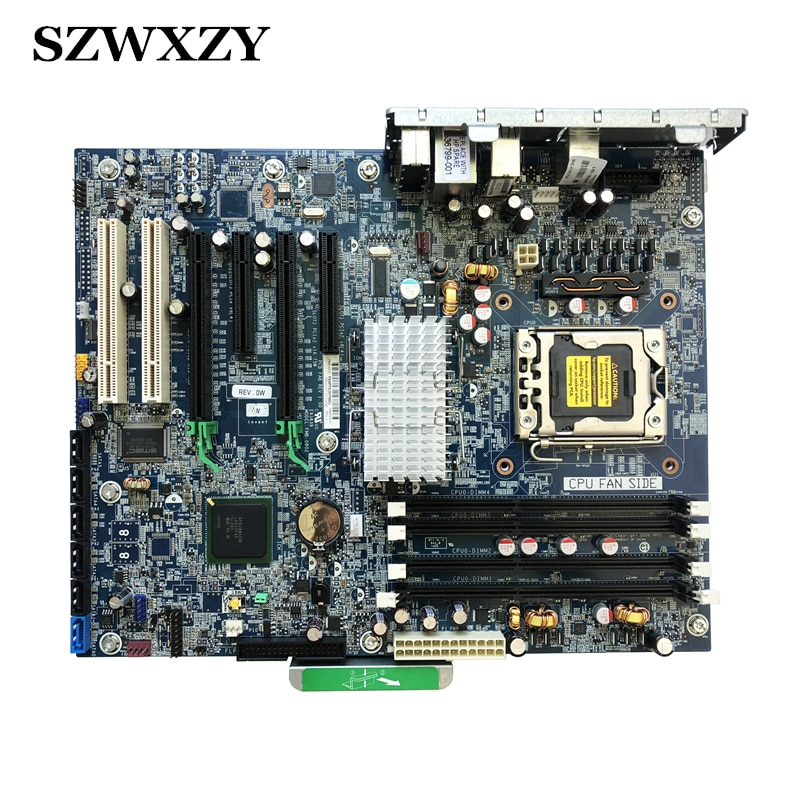 Original para hp z400 workstation placa-mãe 461438-001 480639-002 lga 1366 chipset x58 completo testado