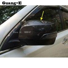 Revêtement de bande pour rétroviseur arrière   Pour Subaru XV 2012 2013 2014 2015 rétroviseur arrière de voiture, bâton de garniture du panneau de lampe 2 pièces