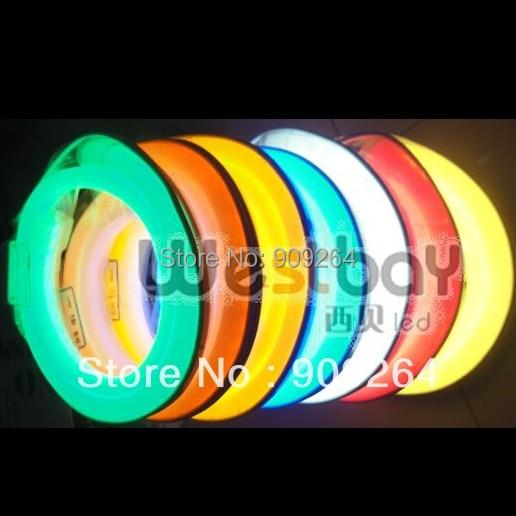 90-130 V Mini 10*22mm luces de neón led en rojo, naranja, amarillo, rosa, verde, azul, blanco, blanco cálido para iluminación de decoración de vacaciones