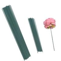 Tige de fleur verte artificielle  20 pieces  15 25 40cm  materiel Floral fait a la main  accessoires pour decoration de mariage et de maison