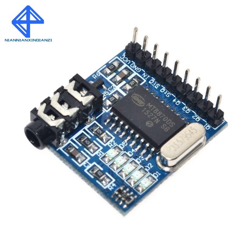 1 Uds MT8870 DTMF Módulo de decodificación de voz Módulo de teléfono