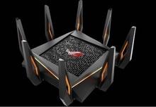 Routeur de jeu WiFi Tri-bande ROG GT-AX11000 premier routeur Wi-Fi 10 Gigabit au monde avec processeur quad-core, port de jeu 2.5G