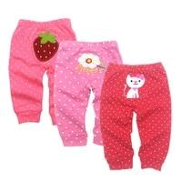 pp pants 3pcslot 2021 baby fashion model babe pants cartoon animal printing baby trousers kid wear baby pants 0 24m