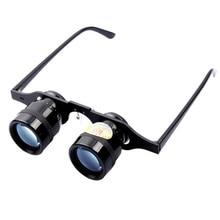 Adjustable 10 Times Zoom In Glasses Fishing 66g Ultralight Full Metal Hand Free Binoculars Telescope Polarized Glass Pesca T45