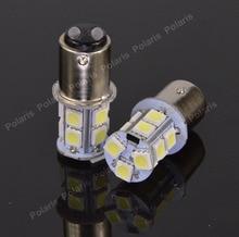 10 sztuk jakości 1157 BAY15D P21/5W 13 SMD 5050 kierunkowskaz Led do samochodu światła hamowania lampy tylne 13SMD tylne żarówki sygnalizujące cofanie samochodu DC 12V