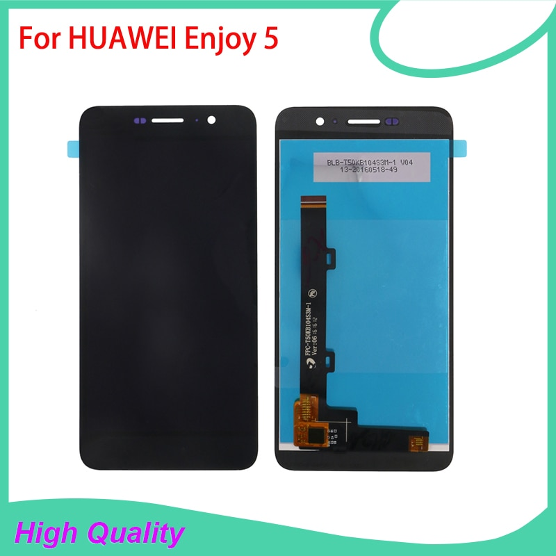 100% Guarantee High Quality LCD Display Touch Screen For HUAWEI Enjoy 5 Mobile Phone LCDs Touch Pane
