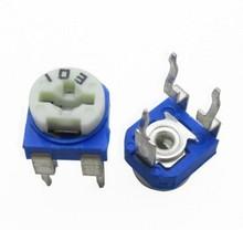500pcs Trimmer Potentiometer RM065 RM-065  200 ohm  201  200 R  Trimmer Resistors Variable adjustable Resistor