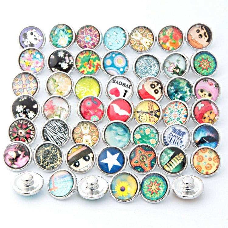Nova whole 12mm pequeno botão venda 50 pçs/lote misturar estilos cores intercambiáveis beleza tirar novo relógios botão snap jóias