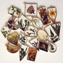 10 pièces pendentif rond presse fleur bricolage UV résine cadre blanc lunette fabrication de bijoux