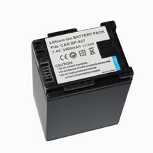 7.2 V 3400 mAh BP-827 BP 827 BP-819 BP-807 BP-809 batterie pour Appareil Photo CANON HG31 XA10 HF20 HF10 HF100 HF100E HG20 HG21 HF11 HFS100