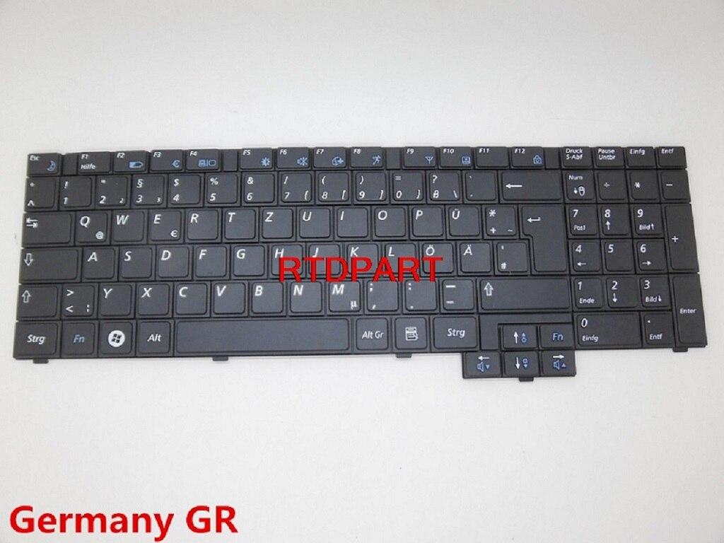 Keybaord para samsung r517 r528 r523 r525 r530 r540 r719 rv508 rv510 alemanha gr ser bélgica canadá ca latin la coreia kr novo