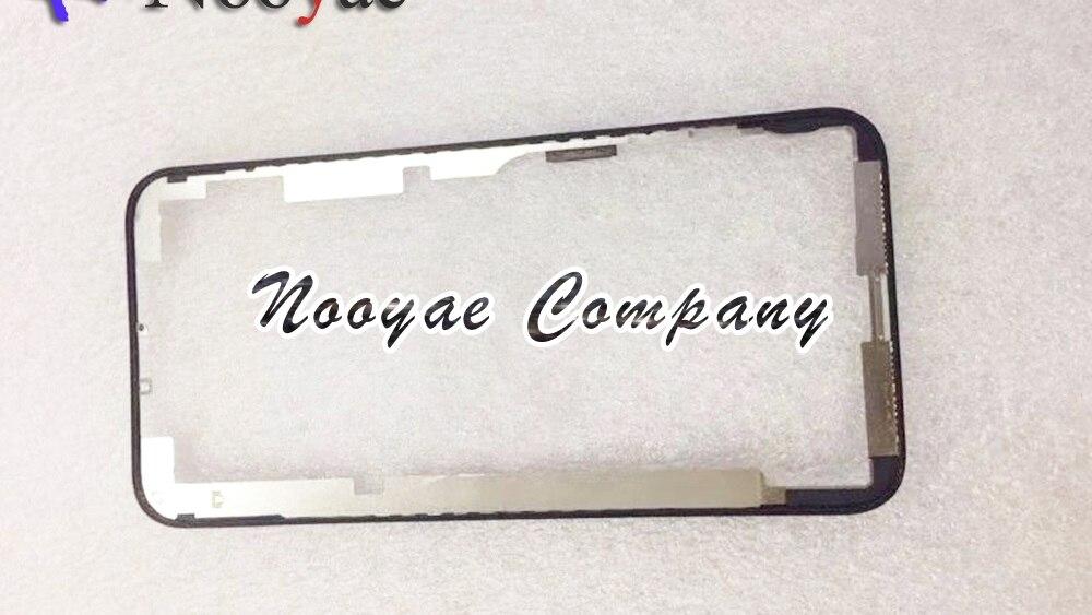 10 قطعة/الوحدة LCD شاشة تعمل باللمس الإطار الأوسط الحافة الإسكان لاستبدال آيفون Xs/Xs ماكس