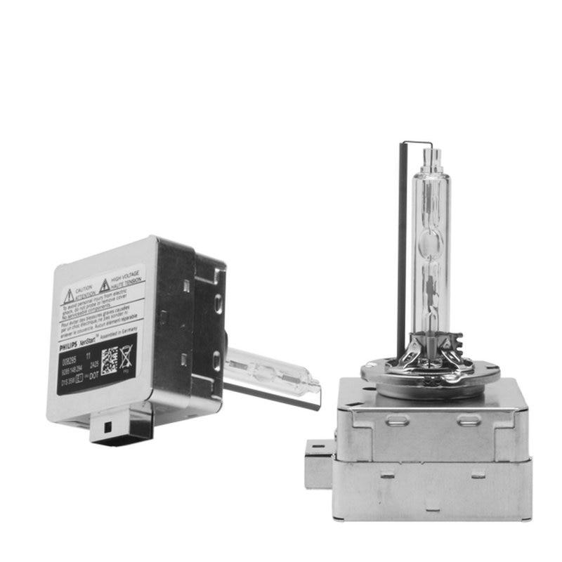 35W D1S lámpara de xenón Original HID D1S D3S D4S D2S xenón de alta calidad, ampolla de Metal 6000K 8000K 4300K, bombilla de Xenón HID de alto brillo, 2X