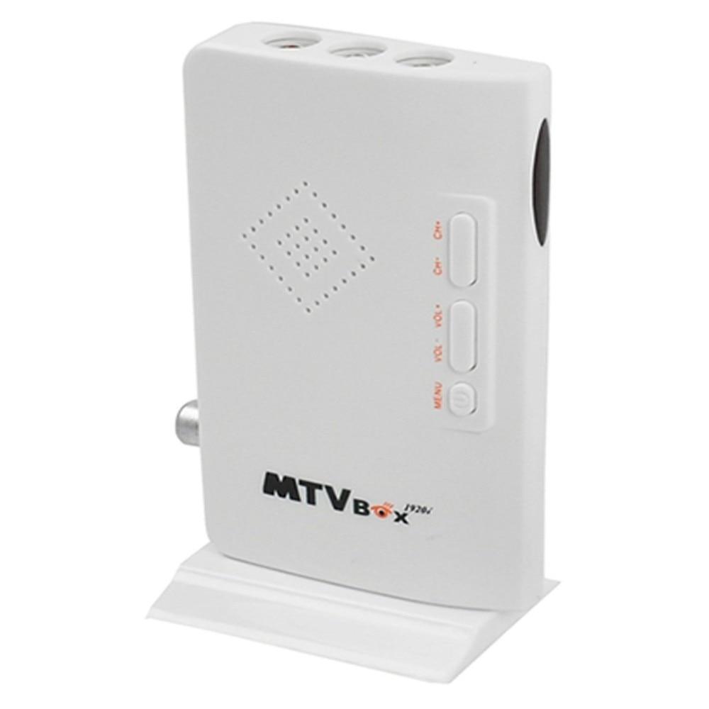 HD 1080P HD TV Box HD externo LCD CRT VGA sintonizador de TV externo MTV caja de la PC receptor sintonizador AV VGA a VGA