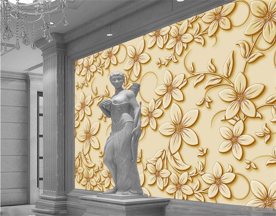 Tamaño personalizado 3D foto papel pintado Mural pegatina sala de estar Multi estilo color 3D foto Mural sofá Fondo papel tapiz hogar Decoración