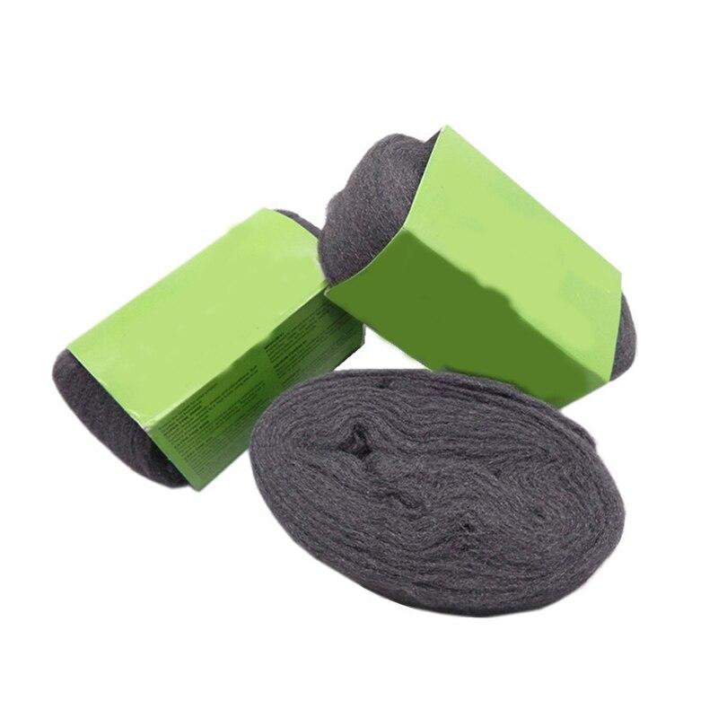 Alta calidad Algodón pulido muebles renovación reparación limpieza mantener madera acabados de Metal superfino de lana de acero